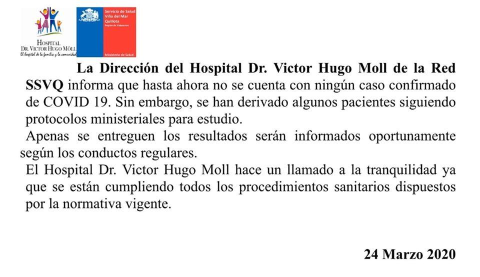 Comunicado Hospital Cabildo