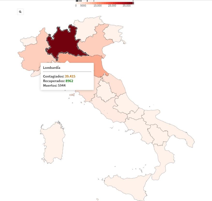 Italia Casos Covid19