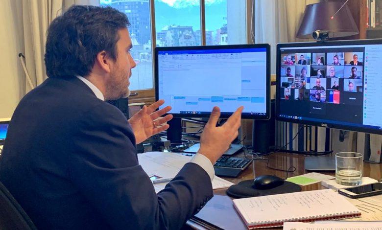 Photo of Subsecretario de Hacienda e Intendente regional explicaron los alcances del  proyecto que amplía el Ingreso Familiar de Emergencia