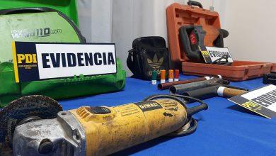 Photo of PDI Concon recuperó especies robadas a centro de entrenamiento de Bomberos