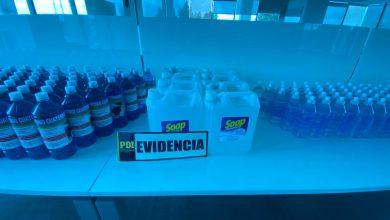 Photo of PDI incauta desinfectantes ilegales en Villa Alemana