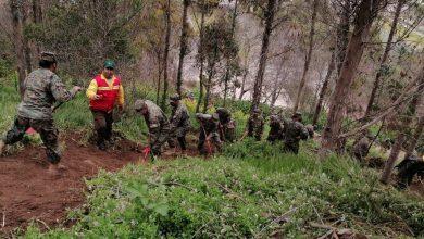 Photo of CONAF capacita a 678 efectivos del Ejército y la Armada en el combate de incendios forestales